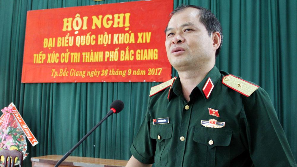 Đại biểu Quốc hội khóa XIV tiếp xúc cử tri TP Bắc Giang: Nhân dân kiến nghị một số vấn đề về đất đai, cơ sở hạ tầng