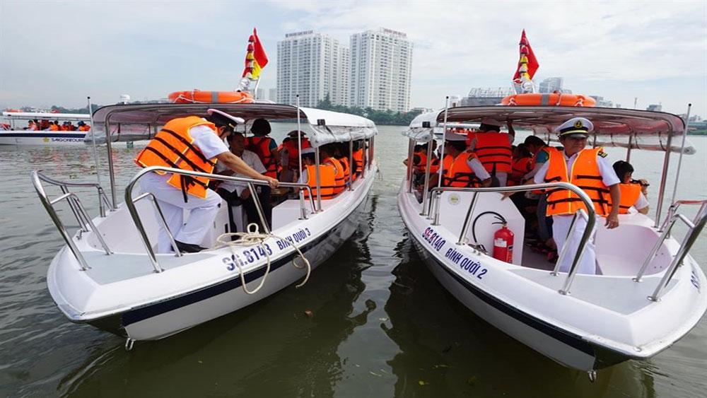 Ra mắt 7 tour đường sông bằng canô cao tốc tại TP Hồ Chí Minh