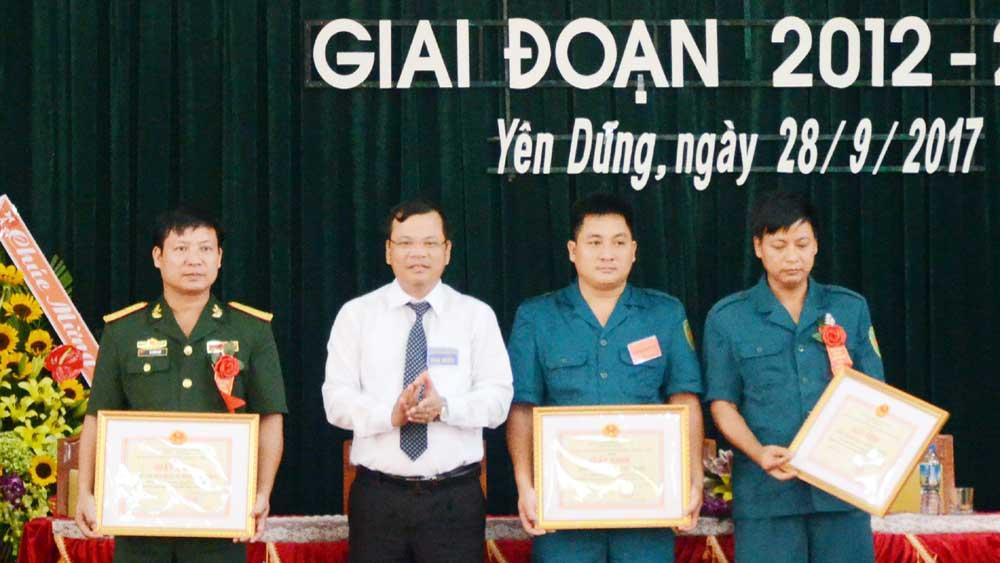 Đại hội thi đua quyết thắng lực lượng vũ trang huyện Yên Dũng