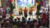 Cử cán bộ, giáo viên các nhà trường về thôn, tổ dân phố tổ chức Tết Trung thu