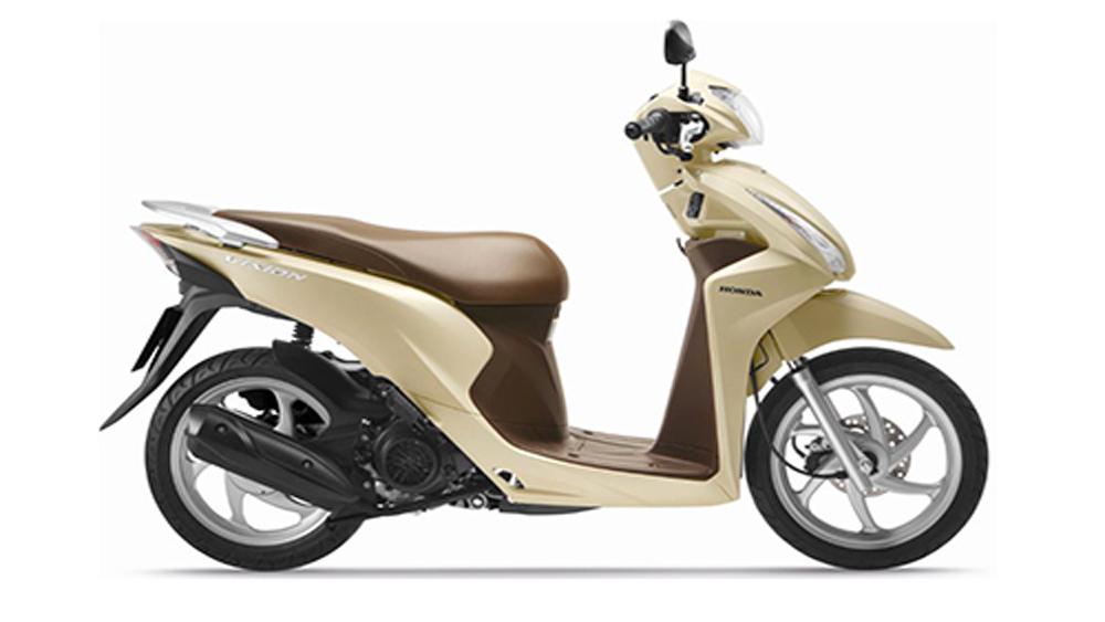 Honda Vision thêm màu mới, giá từ 30 triệu đồng