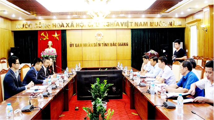 Japanese corporation seeks for investment opportunity in Bac Giang hi-tech agriculture