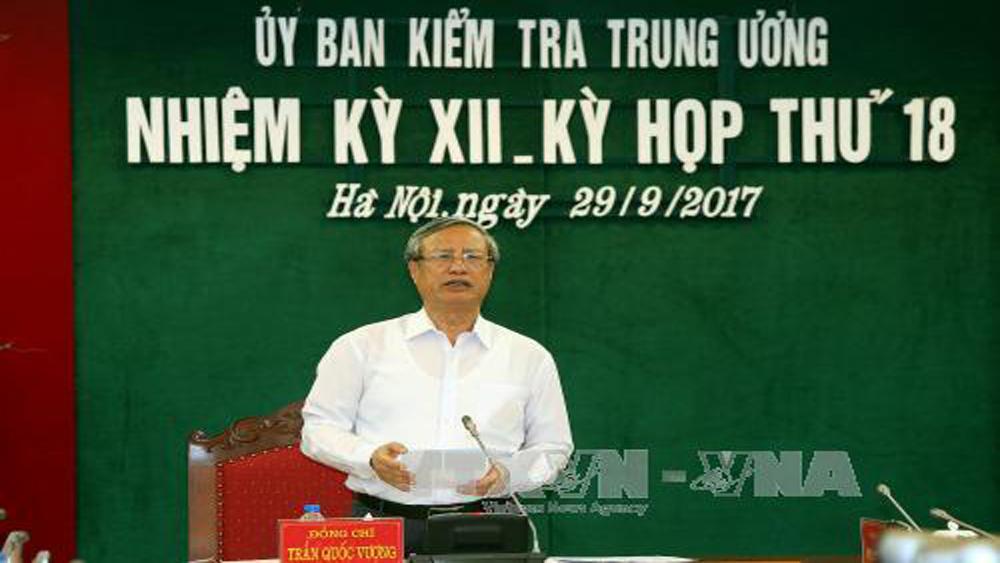 Ủy ban Kiểm tra Trung ương đề nghị thi hành kỷ luật Ban Thường vụ Thành ủy Đà Nẵng