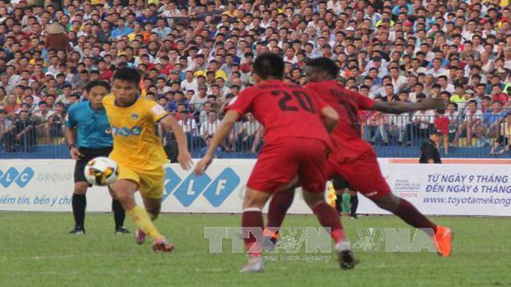 V.League 2017: FLC Thanh Hóa hòa đội Hải Phòng 1-1 trên sân nhà