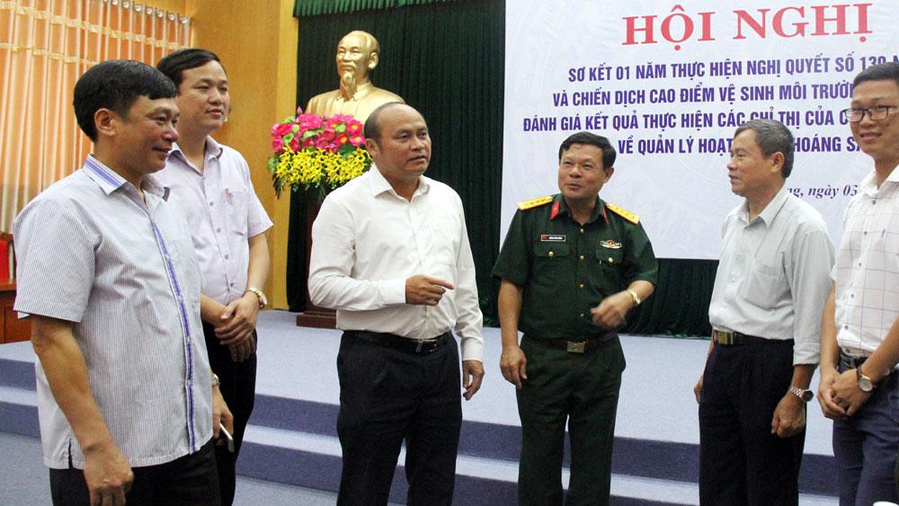 Chủ tịch UBND tỉnh Nguyễn Văn Linh: Duy trì xử lý rác thường xuyên