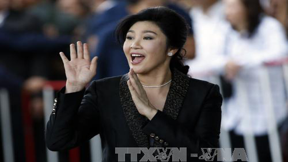 Cảnh sát Thái Lan xác nhận cựu Thủ tướng Yingluck tới Anh