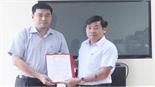 Đồng chí Nguyễn Phúc Thương được điều động giữ chức Phó Giám đốc Sở Khoa học và Công nghệ
