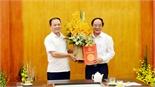 Đồng chí Lưu Xuân Vượng giữ chức Giám đốc Sở Tài nguyên và Môi trường