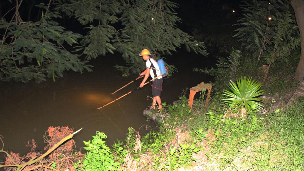 Ngăn ngừa khai thác thủy sản bằng xung điện
