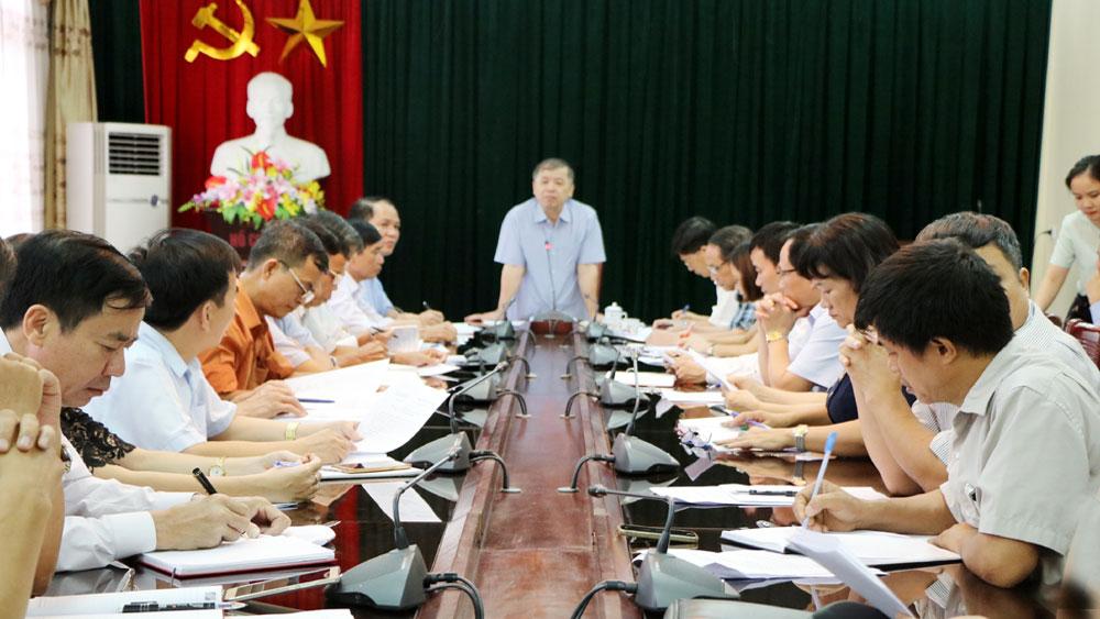 Thành ủy Bắc Giang: Kiểm điểm việc mua và đọc báo, tạp chí của Đảng