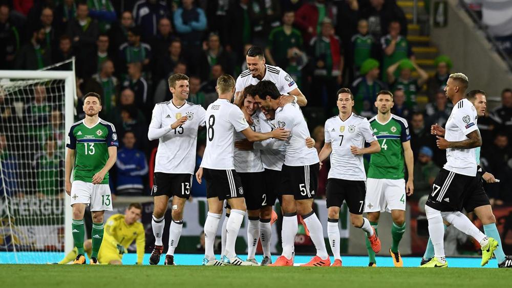 Thêm Đức và Anh giành vé dự World Cup 2018