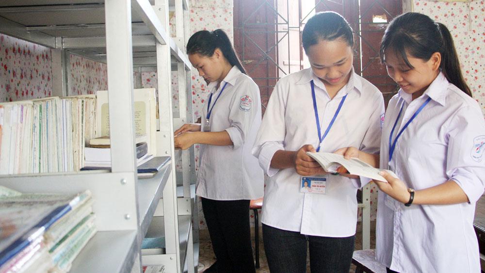 Trường THPT Yên Dũng số 3: Hành động đẹp từ thói quen đọc sách
