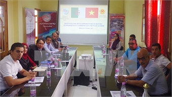 Vietnam, Algeria promote trade, investment in Biskra workshop