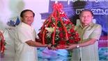 Ấm tình thầy trò Lào - Việt nơi đất hoa Chăm-pa