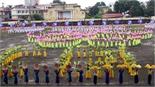 Tổng duyệt lễ khai mạc Đại hội TDTT tỉnh Bắc Giang lần thứ VIII