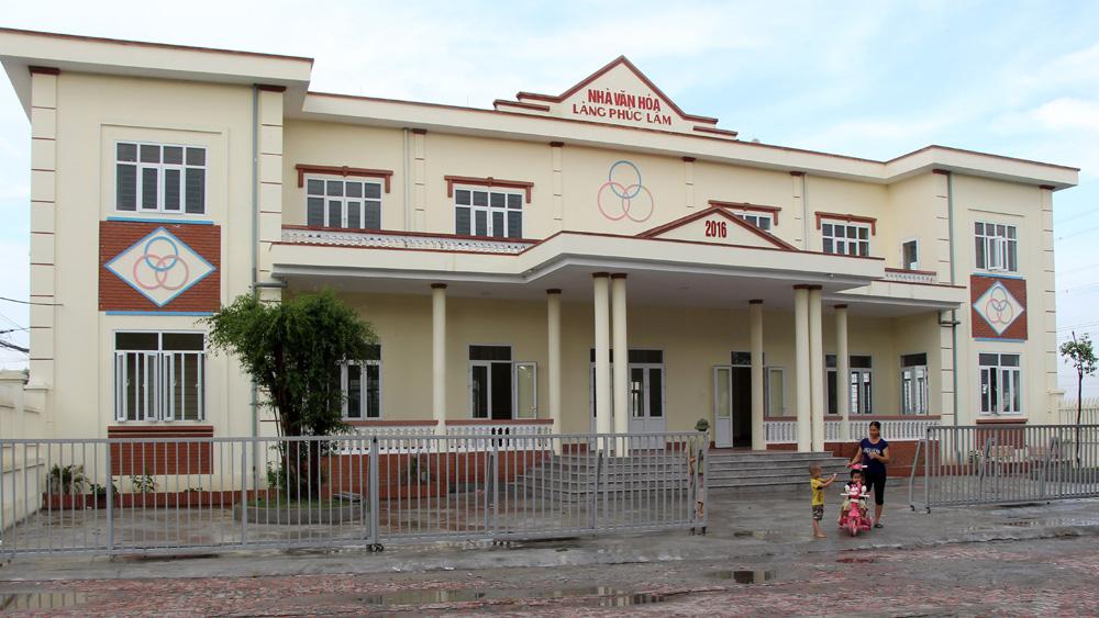 Khánh thành nhà văn hóa thôn Phúc Lâm