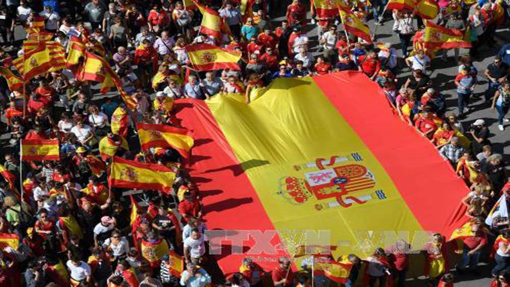 Pháp sẽ không công nhận tuyên bố độc lập đơn phương của Catalonia