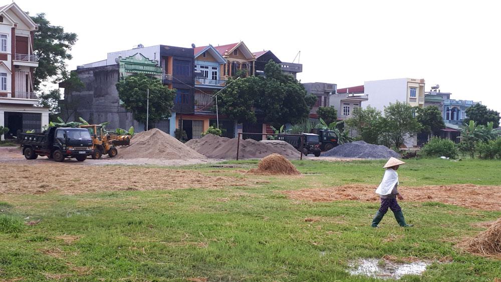 Xã Xương Lâm (Lạng Giang): Cán bộ thôn, xã không bán đất công