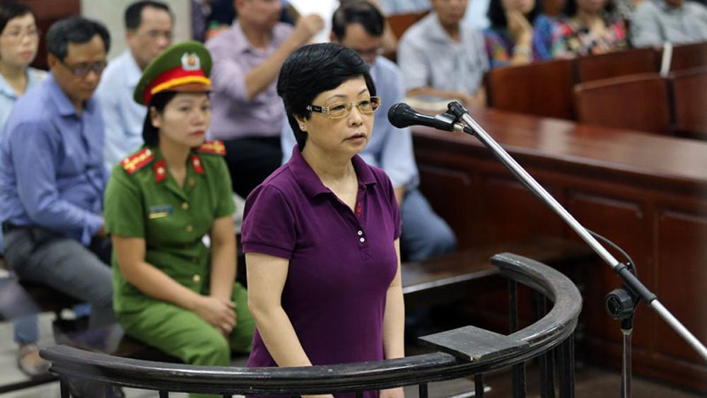 Nói lời sau cùng, cựu ĐBQH Châu Thị Thu Nga bật khóc kêu oan
