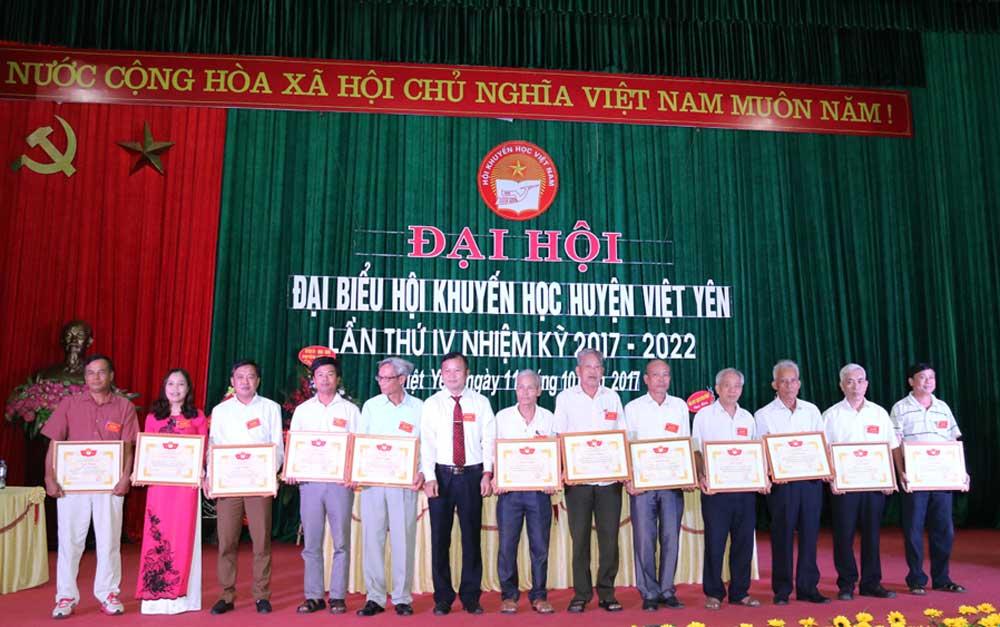 Đại hội đại biểu Hội Khuyến học huyện lần thứ IV, nhiệm kỳ 2017-2022