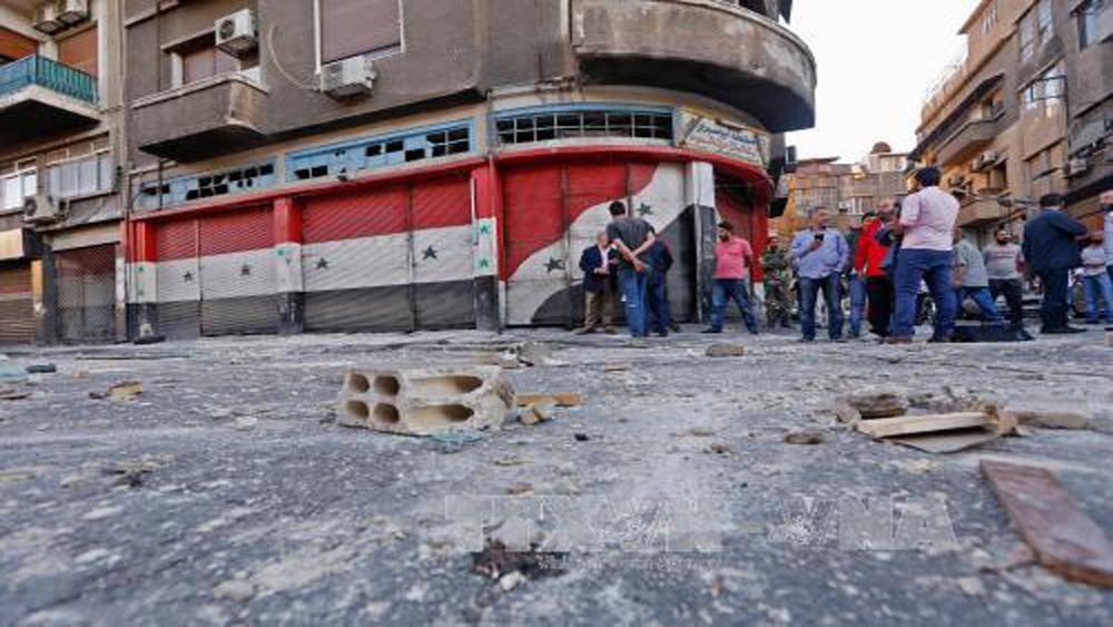IS đánh bom liều chết hàng loạt tại Syria, 50 người thiệt mạng