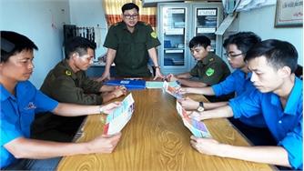 Trưởng Công an xã Đồng Tâm Nguyễn Hữu Tư: Tận tâm với công việc