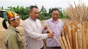 Nông dân Lê Văn Hoan: Khởi nghiệp từ gỗ loại
