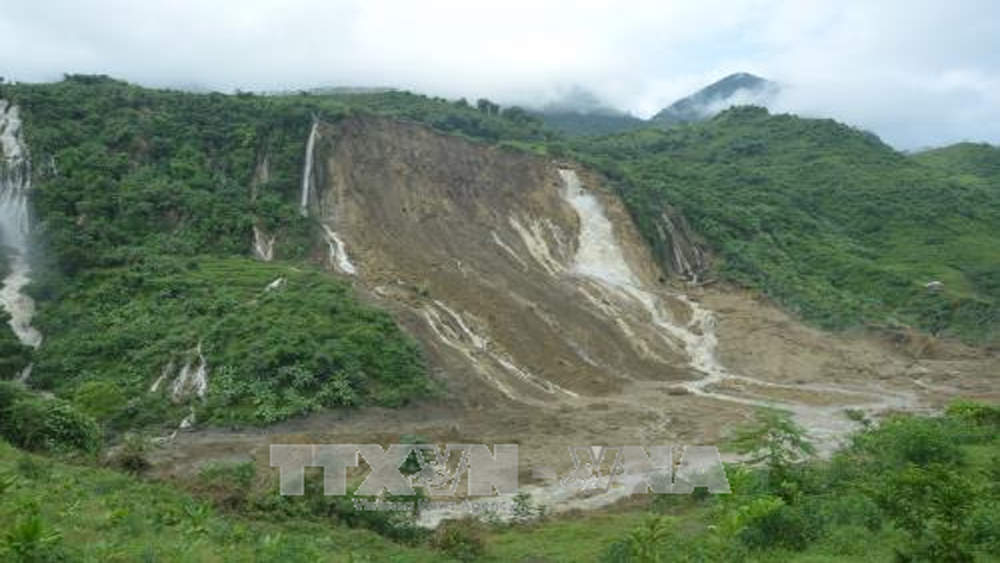 Hòa Bình: 41 người chết, mất tích và bị thương do mưa lũ