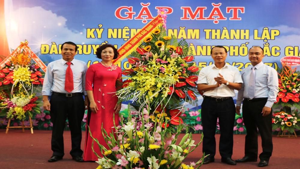 Gặp mặt kỷ niệm 40 năm Ngày thành lập Đài Truyền thanh TP Bắc Giang