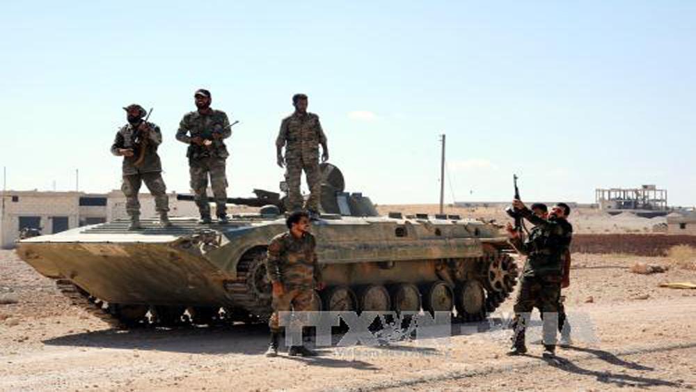 Nga: IS chỉ còn kiểm soát 8% lãnh thổ Syria