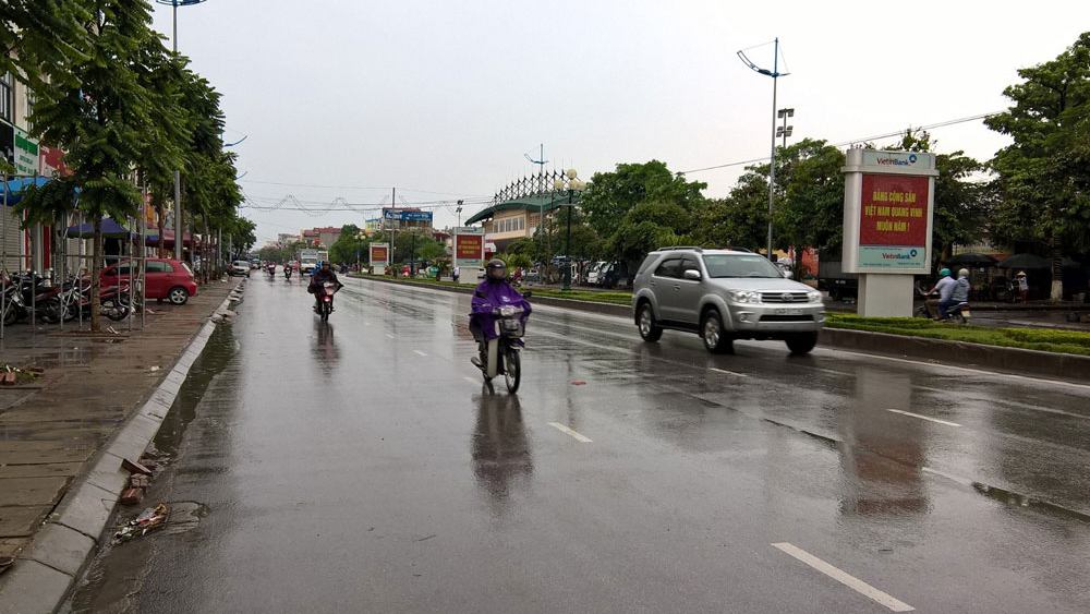 Bắc Giang: Ảnh hưởng của bão, ngày 16 và 17-10, nhiều khu vực có mưa và dông