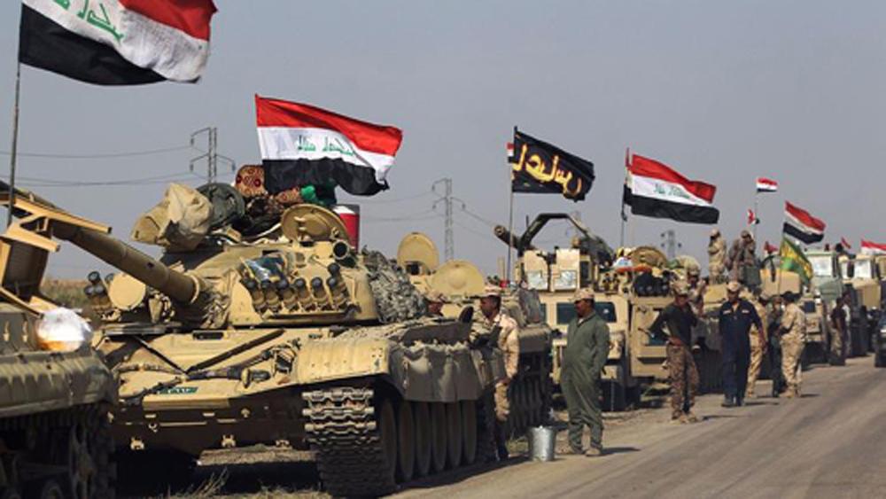 Lực lượng Iraq tiến vào khu vực người Kurd