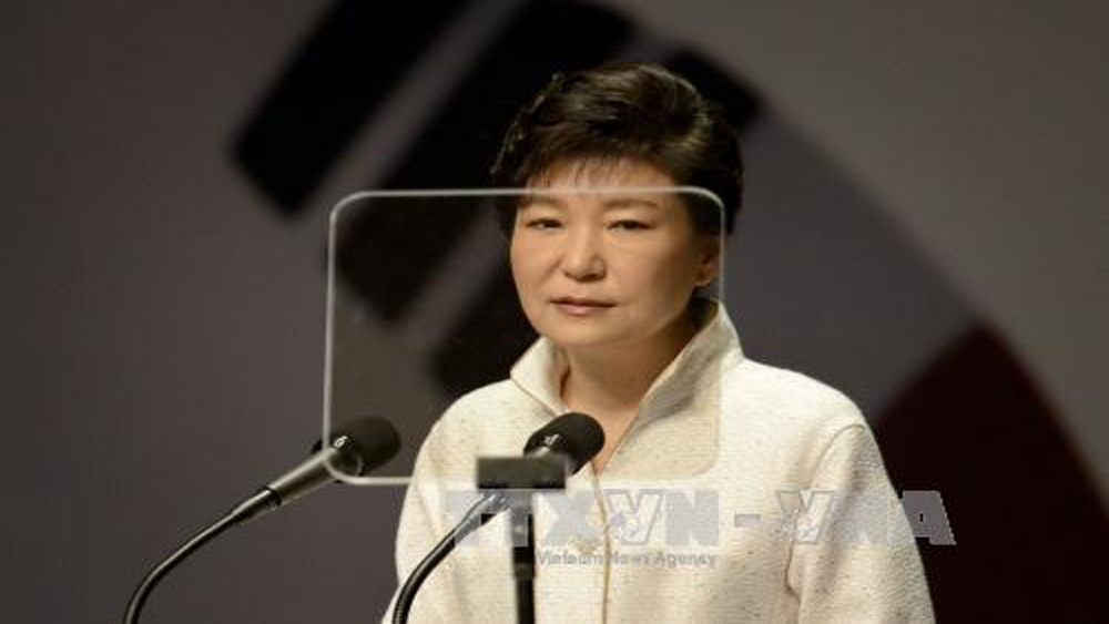"""Cựu Tổng thống Park Geun-hye gọi phiên tòa xét xử bà là """"trả thù chính trị"""""""