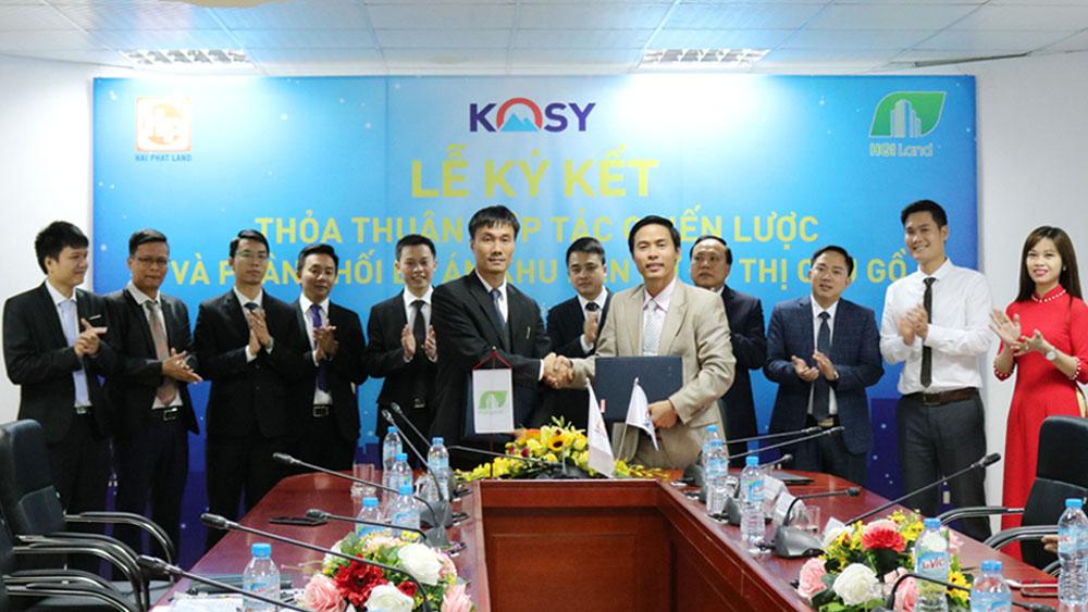Hợp tác, phân phối,  dự án, Khu dân cư đô thị Cầu Gồ, Kosy