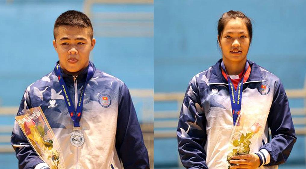 Giải vô địch vật tự do - cổ điển toàn quốc: Bắc Giang giành 4 huy chương