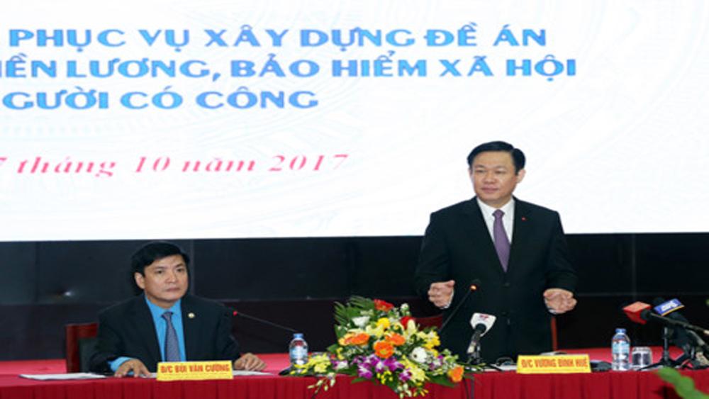 Hội nghị Trung ương 7 sẽ thảo luận về cải cách tiền lương