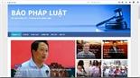 Trang web mạo danh Sở Tư pháp Hà Nội, đăng tin thất thiệt