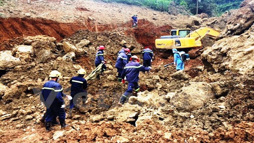 Tìm thấy thi thể hai nạn nhân cuối cùng trong vụ sạt núi tại Hòa Bình