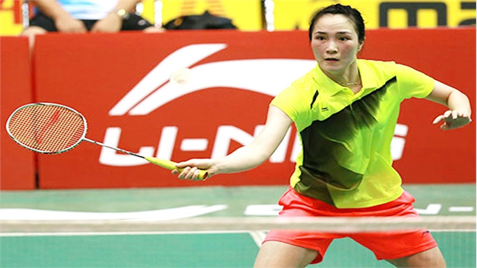 Bac Giang player to compete at French and Hungarian badminton tourney