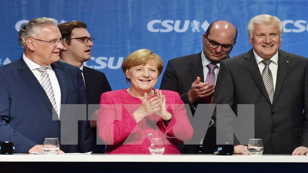 Thủ tướng Merkel khởi động đàm phán thành lập chính phủ liên minh