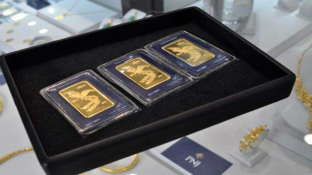 Giá vàng trong nước đắt hơn quốc tế gần 1,4 triệu đồng