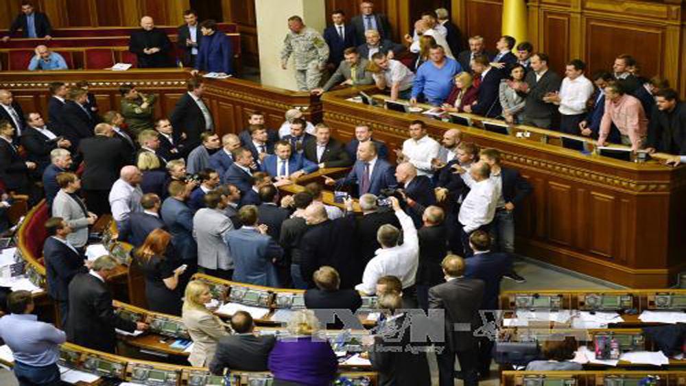 """Nga cảnh báo Ukraine không lợi dụng biểu tình làm """"nóng"""" Donbass"""