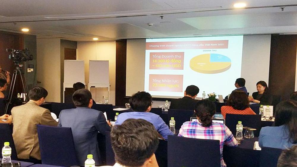 """""""Lộ diện"""" 50 doanh nghiệp công nghệ hàng đầu Việt Nam 2017"""