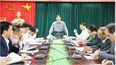 Bí thư Thành ủy Nguyễn Sỹ Nhận làm việc với Thường trực UBND thành phố