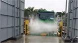 Xe ô tô vào Hà Nội sẽ phải qua các trạm rửa xe tự động