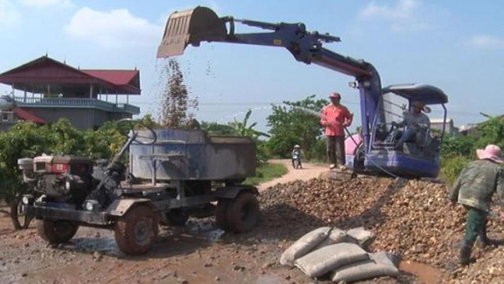 Người dân xã Quý Sơn hiến đất làm đường