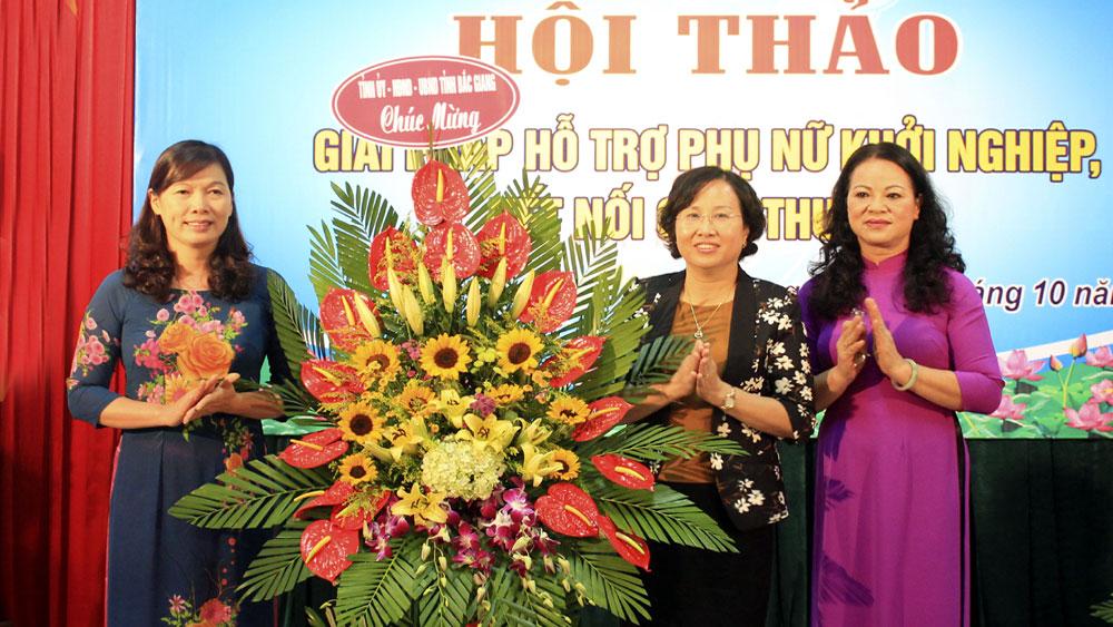 Hội thảo giải pháp hỗ trợ phụ nữ khởi nghiệp, kết nối giao thương