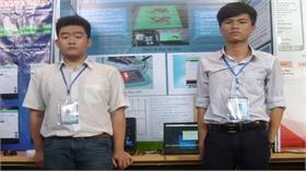 Máy đọc dành cho người khiếm thị của 2 học sinh phố núi