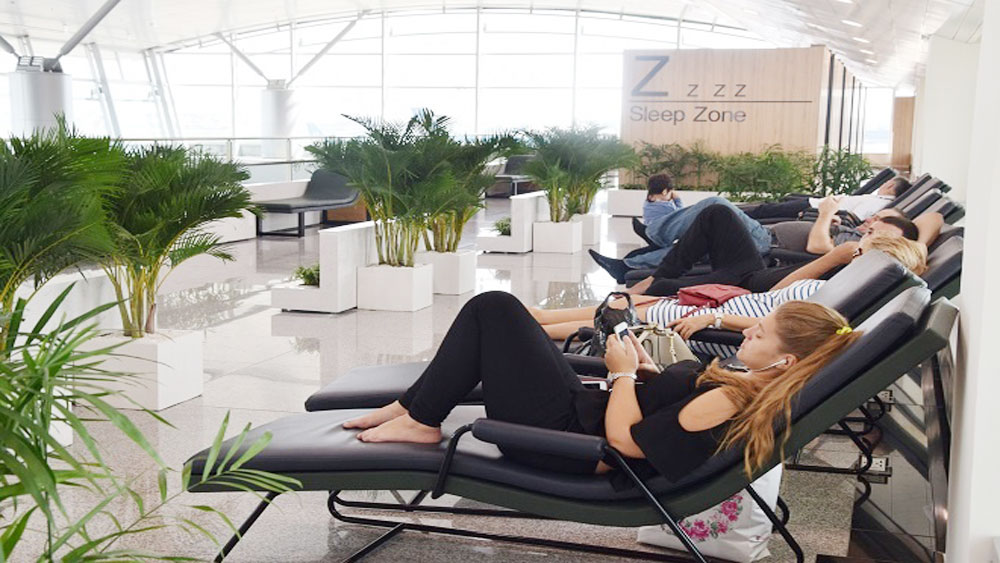 Saigon airport named among the world's best for a sleepover