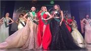Hà Thu giành Huy chương Đồng thứ hai tại cuộc thi Hoa hậu Trái đất 2017